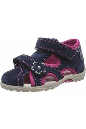 Lurchi Baby Girls' MOMO Sandals, (Navy 22)