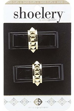 Woly Unisex-Adult Clips Patent Bow Stud Shoe Decoration Charms One Size