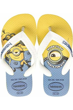 Havaianas Unisex Kid's Minions Flip Flops, ( Citric/ 3455)