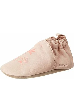 Robeez Baby Girls' FANTILE Slippers, (Rose Clair 131)