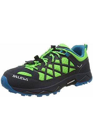 Salewa Unisex Kids' Jr Wildfire Low Rise Hiking Shoes, (Fluo / Danube 5810)