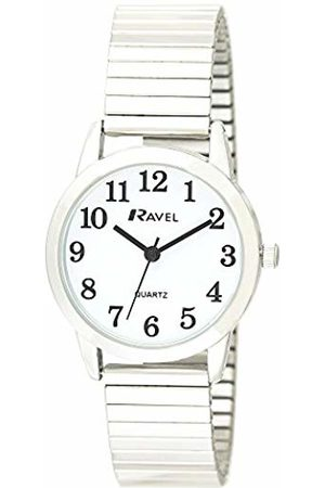 Ravel Womens Analogue Classic Quartz Connected Wrist Watch with Stainless Steel Strap R0232.01.2