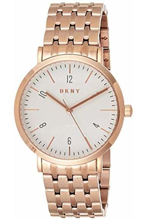 DKNY Women's Analogue Quartz Watch with Stainless Steel Strap NY2504