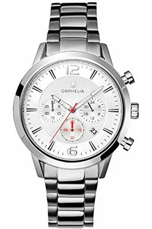 ORPHELIA Mens Chronograph Quartz Watch with Stainless Steel Strap OR82806