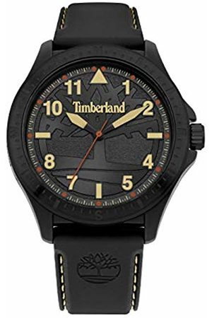 Timberland Mens Analogue Classic Quartz Watch with Silicone Strap 15925JPBB/02P