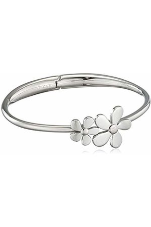 Tommy Hilfiger Women's Stainless-Steel Double Flower Bangle
