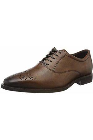 Ecco Men Formal Shoes - Men's CALCAN Oxfords, (Amber 1112)