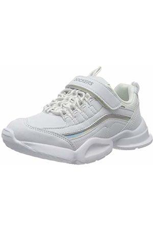 Dockers Unisex Kids' 46eb602-610500 Low-Top Sneakers, (Weiss 500)