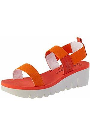 Fly London Women's YACI594FLY Sling Back Sandals, (Devil 002)