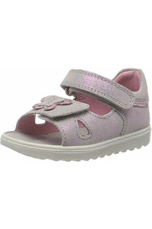 Superfit Baby Girls' Lettie Sandals, (Hellgrau/Rosa 25)