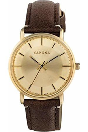 Kahuna Women's Quartz Watch with Dial Analogue Display and PU Strap KLS-0326L