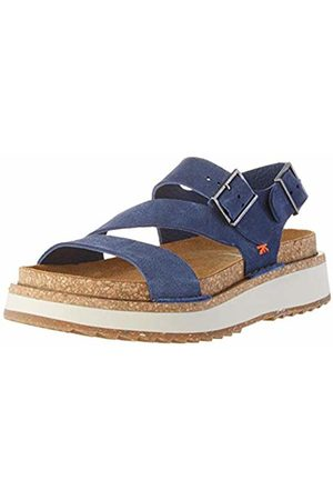 Art Unisex Adults' 1611 Skin Back Vancouver Open Toe Sandals, (Denim Denim)