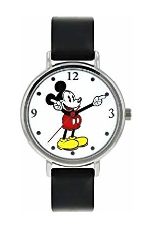 Disney Unisex-Adult Analogue Classic Quartz Watch with Leather Strap MK1315