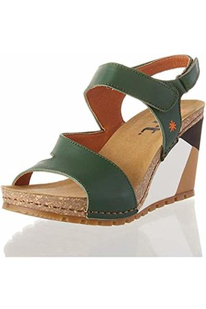 Art Women's 1330 Grass GÜELL Open Toe Sandals, (Forest Forest)
