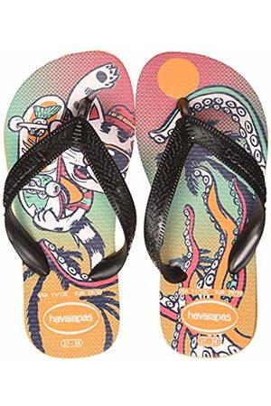 Havaianas Unisex Kid's Radical Flip Flops, (Vibrant 7608)