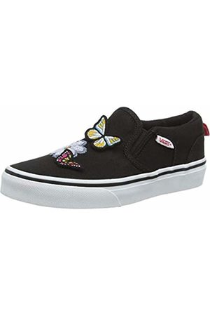 Vans Girls' Asher Slip On Trainers, ((Butterflies) / Wf1)