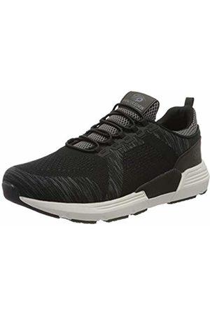 Dockers by Gerli Men's 46fz001-706120 Low-Top Sneakers, (Schwarz/Grau 120)