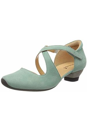 Think! Women's 686241 Ankle-Strap Turquoise Size: 5 UK