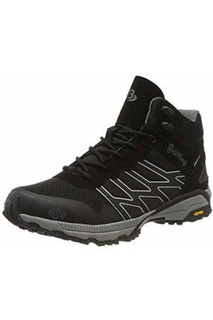 Bruetting Unisex Adults' Mount Blake High Rise Hiking Shoes, (Schwarz/Grau Schwarz/Grau)
