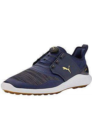 Puma Hombre Ignite Nxt Disc Zapatos de Golf, Gris (Peacoat Team 04)