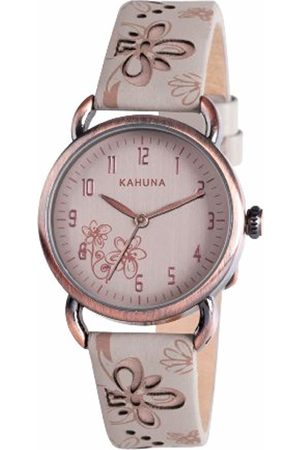 Kahuna Women's Quartz Watch with Dial Analogue Display and PU Strap KLS-0254L
