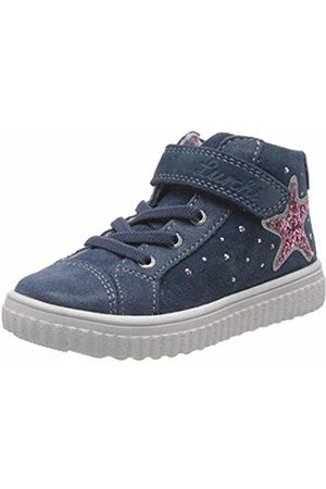 Lurchi Girls' YENNI Hi-Top Trainers, (Jeans 22)