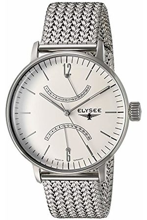 ELYSEE Unisex Adult Analogue Quartz Watch with Stainless Steel Strap 13270M
