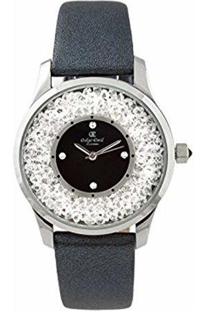 Oskar Emil Oskar-Emil Classic Alicia Women's Quartz Watch with Dial Analogue Display and Leather Strap