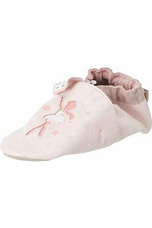Robeez Baby Girls' Dance Dream Slippers, (Rose Clair 131)