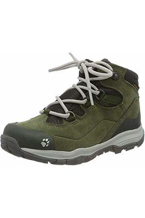 Jack Wolfskin Unisex Kids' MTN Attack 3 Lt Texapore Mid K High Rise Hiking Shoes, (Khaki/Phantom 4287)
