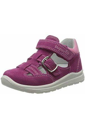 Superfit Baby Girls' Mel Sandals, (ROSA/Hellgrau 55)