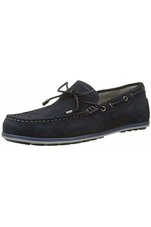 Geox Men U Mirvin B Loafers, (Navy)