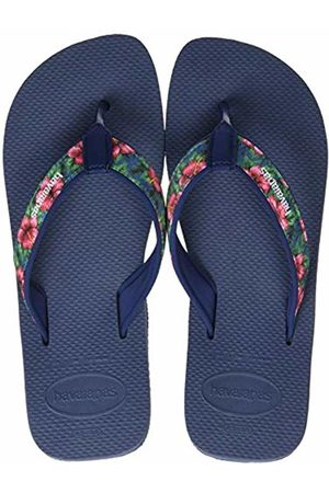 Havaianas Men's Surf Material Flip Flops, (Indigo 0089)