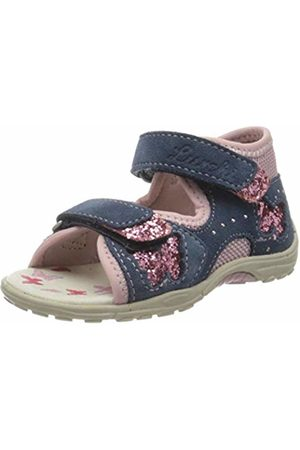 Lurchi Baby Girls' Marzia Sandals, (Jeans Rose 42)