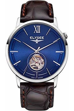 ELYSEE Unisex Adult Analogue Automatic Watch with Leather Strap 77013