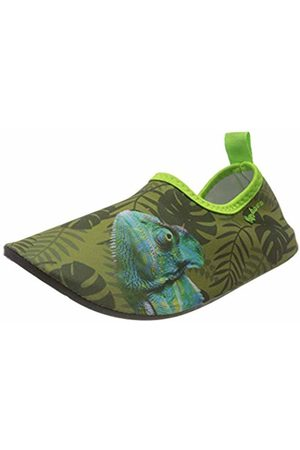 Playshoes Unisex Kids' Uv-Schutz Barfuß-Schuh Chamäleon Water Shoes, (Oliv 34)