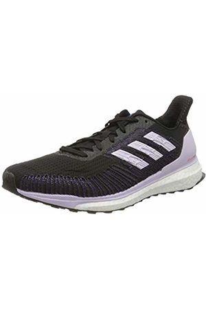 adidas Women's Laufschuhe-ee4321 Cross Country Running Shoe, Cblack/Prptnt/Solred