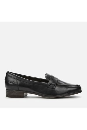 Clarks Women's Hamble Leather Loafers
