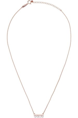 Tasaki Women Necklaces - 18kt rose petit Balance Solo Akoya pearl and diamond pendant