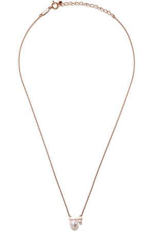 Tasaki Women Necklaces - 18kt rose petit Balance Class Akoya pearl and diamond pendant