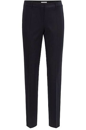 HUGO BOSS Slim-fit cropped trousers