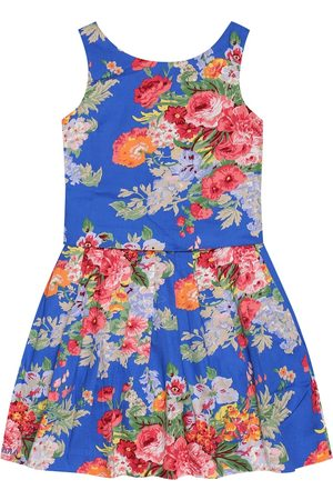 Ralph Lauren Floral cotton top and skirt set
