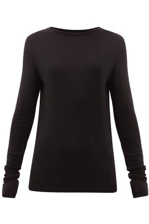 Raey Long-sleeved Organic-wool T-shirt - Womens