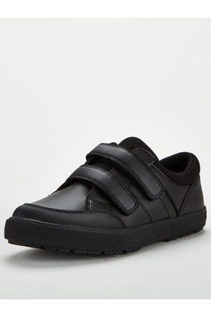 Very Toezone At Older Boys Twin Strap Leather School Shoe
