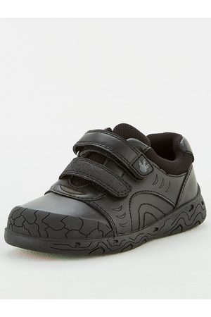 Very Toezone At Younger Boys Dinosaur Leather School Shoe