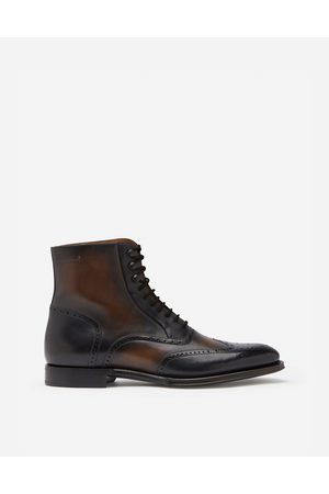 Dolce & Gabbana Boots - GIOTTO CALFSKIN ANKLE BOOTS