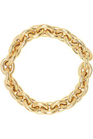 Bottega Veneta 18kt -plated necklace