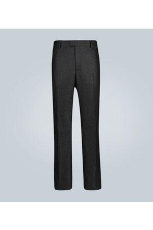 Bottega Veneta Cashmere-blend straight-fit pants