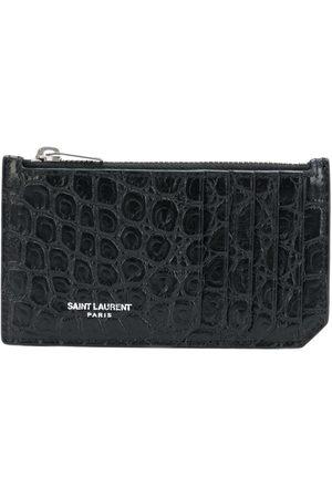 Saint Laurent Men Purses & Wallets - Fragment zipped cardholder