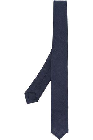 Thom Browne Logo patch linen tie